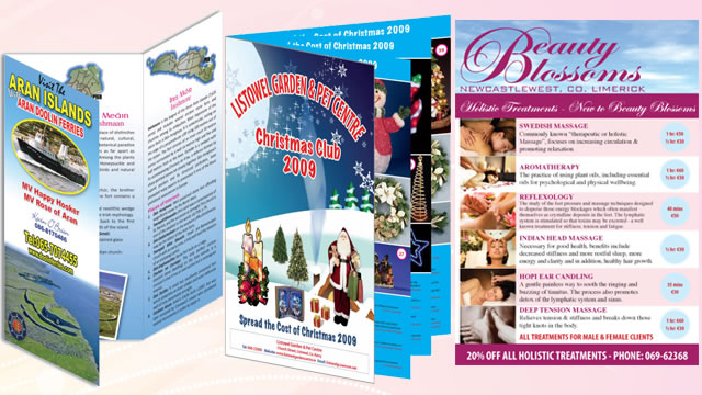 Various Brochures & Flyers