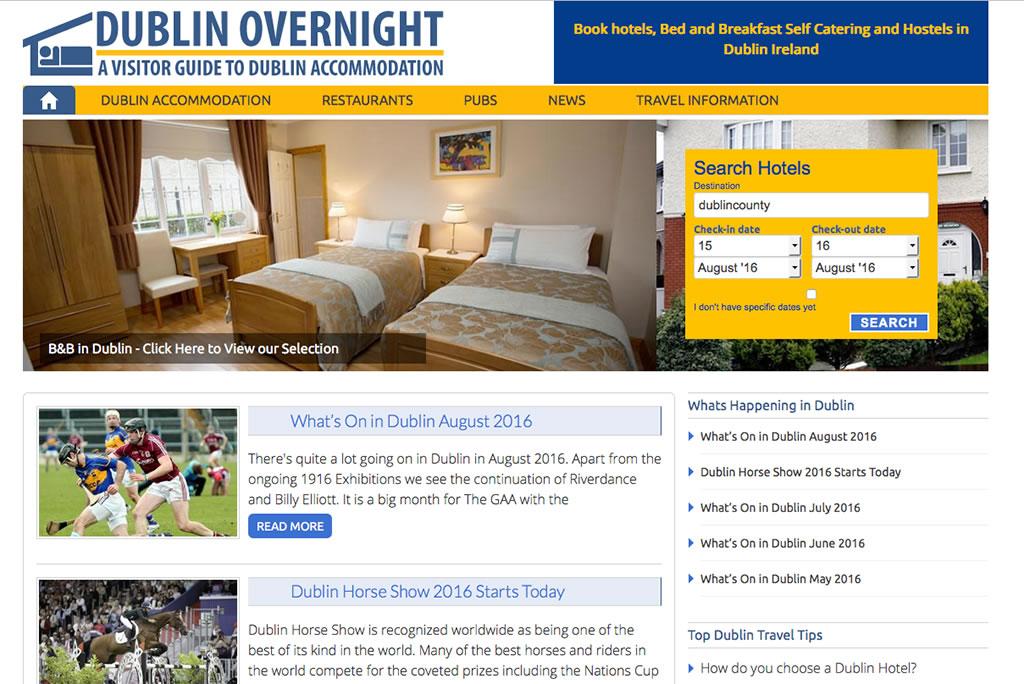 Dublin Overnight Website