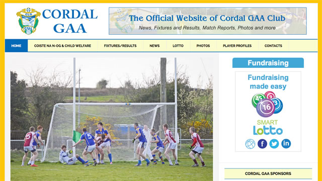 Cordal GAA Website