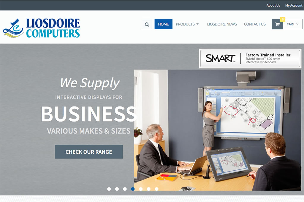 Liosdoire Computers Website