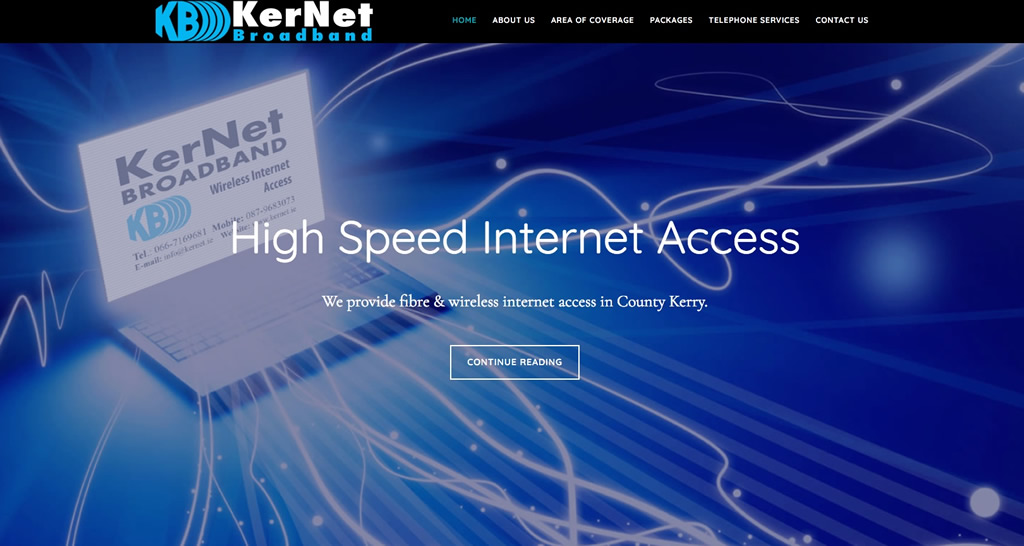 Kernet Broadband Website