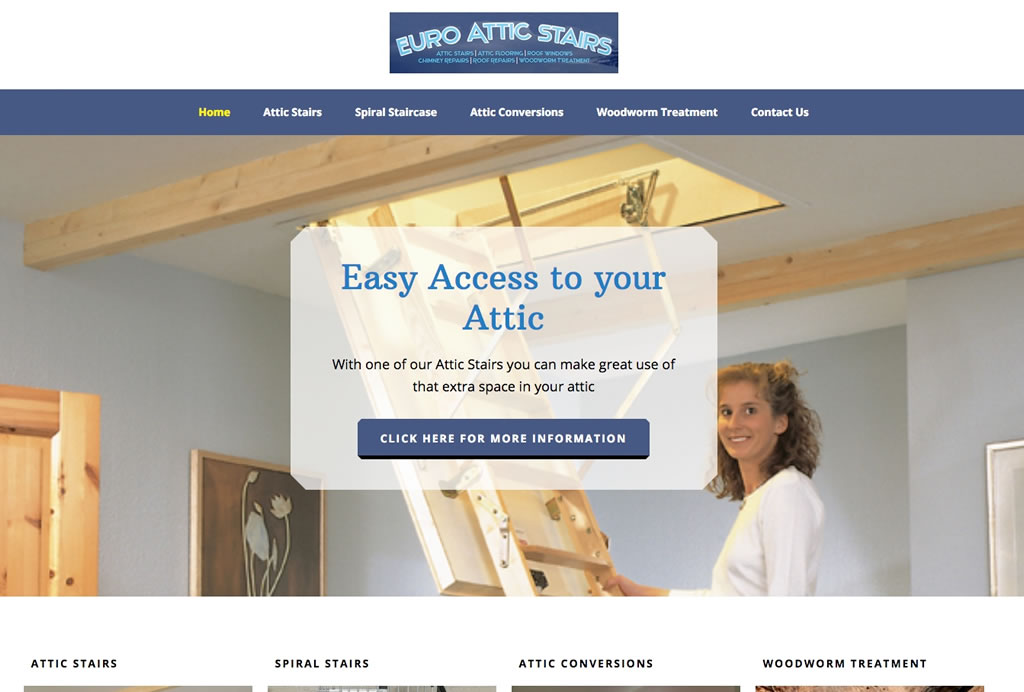 Euro Attic Stairs Website